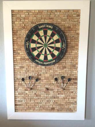 11 Crafty Dartboard Surrounds Clever Ways To Protect