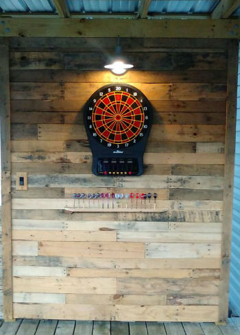 Dartboard Wall