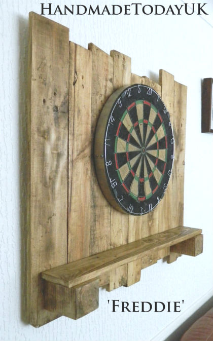 11 Crafty Dartboard Surrounds Clever Ways To Protect Your Wall