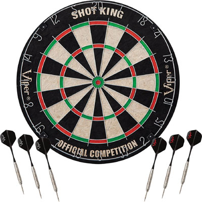 Viper Shot King dartboard