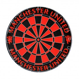 Soccer team Manchester United dartboard