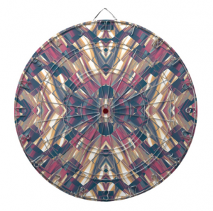Multicolor geometric dartboard