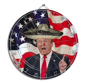 The Trump dartboard