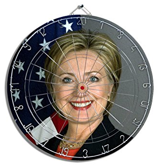 The Clinton dartboard