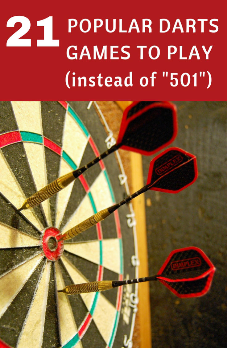 21 Popular Darts Games to Play Instead of 501